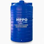 ถังเก็บน้ำบนดินสีน้ำเงิน - ฮิปโป แทงค์