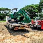 บริการขนส่งขนย้ายรถตัก รถไถ รถขุด รถแม็คโค โคราช - รถยก รถสไลด์โคราช บริการ 24 ชม. ลิตเติ้ลสไลด์ออน