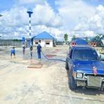 บริการฉีดล้างพื้นโรงงานอุตสาหกรรมระยอง - บริการน้ำจืดระยอง น้ำประปาระยอง