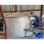 รับผลิตถังเหล็ก (Steel tank) - รับงานออกแบบติดตั้งเครื่องจักร อุดมชัยโลหะกิจ