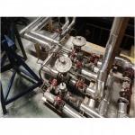 หุ้มฉนวนใยแก้ว-ใยหิน - ฉนวนหุ้มท่อ เครื่องจักร แทงค์และวาล์ว - บิสมาร์ค เมทัล