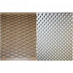Grating Perforated steel grating - Selling aluminum, stainless steel sheet, coil, Chonburi - Bismarck Metal