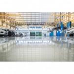 รับทำพื้นพื้นโชว์รูมรถยนต์ ชลบุรี - รับติดตั้งพื้นอีพ็อกซี่ บริษัท พลัส แปซิฟิค จำกัด