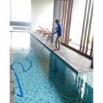 บริการดูแลสระว่ายน้ำ - บริษัท ออลคลีน แอนด์ เอ็นจิเนียริ่ง จำกัด