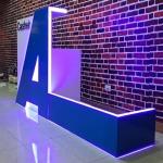ผลิต ติดตั้งตัวอักษร LED ชลบุรี  - ร้าน บริการผลิตงานป้ายทุกรูปแบบ พร้อมดีไซน์ ชลบุรี