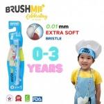 แปรงสีฟันเด็ก BrushMe Step1 สำหรับวัย 0-3ปี - BrushMe Toothbrush