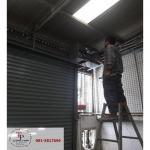 เปลี่ยนลิมิตระบบมอร์เตอร์ ประตู - ทีพี ชัตเตอร์ รับติดตั้งซ่อมประตูม้วน