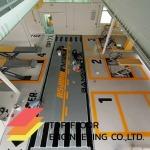 ทำพื้นอีพ็อกซี่พื้นโชว์รูมรถ - ท็อปฟลอร์ เอ็นจิเนียริ่ง รับทำพื้นโรงงาน รับทำพื้นขัดเงาคอนกรีต