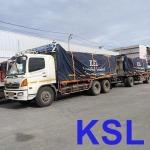 รถพ่วงพื้นเรียบขนส่งสินค้าในประเทศ - ส.กนกทรัพย์ โลจิสติกส์ รับขนส่งทั่วประเทศ