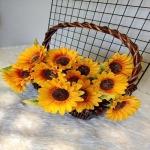 ดอกทานตะวันปลอม - แหล่งขายปลีก - ส่งดอกไม้ปลอม Sisterflowers