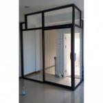 ติดตั้ง กระจกกั้นห้อง - รับติดตั้งกระจกอลูมิเนียม ช่างนัน
