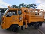 รถบรรทุกเกษตรติดเครน PDK, UNIC - ห้างหุ้นส่วนจำกัด พิษณุโลกด่านสว่างการเกษตร