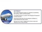 Air Freight - บริษัท เคดับบลิวซี โลจิสติกส์ จำกัด