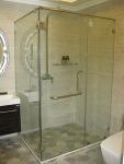 ห้องน้ำกระจกบานเปลือย - บริษัท เฮง อลูมิเนียม จำกัด