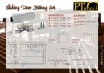 Slide Door Fitting Set - บริษัท เจ อุตสาหกรรม จำกัด