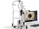 เครื่องตรวจตาชนิดขยายพร้อมจอภาพเพื่ออธิบายผู้ป่วย - ศูนย์โรคตาหาดใหญ่(หมออนุชิต)