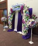 แบ็คดรอปดอกไม้ - รับจัดดอกไม้ พวงหรีด ปัทมาภรณ์ ฟลอรีส