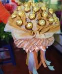 ช่อเฟอเรโร่  - รับจัดดอกไม้ พวงหรีด ปัทมาภรณ์ ฟลอรีส