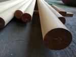 ไม้เต็งกลึงกลม - บริษัท เอกวัฒนาค้าไม้ จำกัด