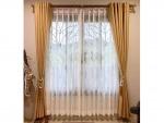 ผ้าม่านสีทอง - Si-Sa Curtain Pichit
