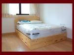 เตียงนอนไม้สนแบบมีลิ้นชัก - ไพน์แอทโฮม เฟอร์นิเจอร์ไม้ใจดี