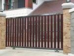 รั้วสแตนเลสผสมไม้ - ประดิษฐ์การช่าง (ประตูสแตนเลส งานสแตนเลสทุกชนิดย่านลาดพร้าว)