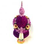 รับจัดพานพุ่มดอกไม้สด จันทบุรี - ร้านดอกไม้ - จันทบุรี