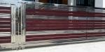 รับออกแบบทำประตูรั้วเหล็กดัด - Phet Stainless Alloy Rangsit