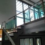 ออกแบบรับทำราวบันได รังสิต - เพชรประตูสแตนเลส อัลลอย รังสิต