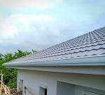 รับติดตั้งรางน้ำฝน ไวนิลสีขาว - Prasearchsomkarnchan