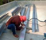 รางน้ำอลูมิเนียม - รับติดตั้งรางน้ำฝนไวนิล ประเสริฐสมการช่าง