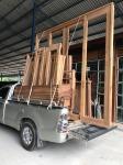 บานประตูไม้จริง อุบลราชธานี - บริษัท เขานิพันธ์ค้าไม้ ซื้อ-ขาย ไม้ (2015) จำกัด