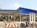 งานทำหลังคาตลาด - ห้างหุ้นส่วนจำกัด ธนภูมิ เอ็นจิเนียริ่ง