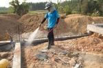 พ่นยาฆ่าปลวกก่อนสร้างบ้าน - Termite control Kanchanaburi