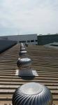 ติดตั้งลูกหมุนระบายอากาศ - รับเหมาติดตั้งรางน้ำฝน ชลบุรี
