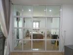 ประตูกระจกบานเฟี้ยม สระบุรี - ติดตั้งกระจกอะลูมิเนียม สระบุรี