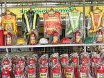 เสื้อจราจรสะท้อนแสง ราชบุรี - ถังดับเพลิง บ้านโป่งเคมีไฟร์ราชบุรี
