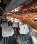 ติดตั้งม่านรถทัวร์ ราชบุรี - ร้าน ชะอ้อน ผ้าม่าน