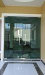 ประตูกระจก บานสวิง ชัยภูมิ  - ห้างหุ้นส่วนจำกัด จิระกระจกอลูมินั่ม - ผ้าม่าน