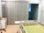 ฉากกั้นผ้านม่านห้องผู้ป่วย - ร้านออกแบบ สั่งทำ พร้อมช่างติดตั้งผ้าม่าน วงเวียนใหญ่ อู๋ผ้าม่าน