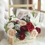 ดอกไม้กระดาษสา  โพซี่ ฟลาวเวอร์