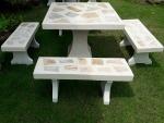 โต๊ะหินขัด - ร้านสวนโต๊ะหินอ่อน นนทบุรี