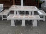 โต๊ะหินขัดลายแกรนิต - ร้านสวนโต๊ะหินอ่อน นนทบุรี