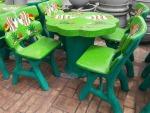 โต๊ะหินเพ้น - ร้านสวนโต๊ะหินอ่อน นนทบุรี