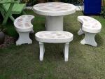 โต๊ะหินม้านั่งหิน - ร้านสวนโต๊ะหินอ่อน นนทบุรี
