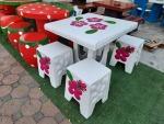 โต๊ะหินอ่อนรูปดอกลีลาวดี ราคาถูก นนทบุรี - ร้านสวนโต๊ะหินอ่อน นนทบุรี