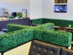 กำแพงต้นไม้ปลอม - รับจัดสวนต้นไม้เทียม ธนพล ต้นไม้ประดิษฐ์