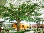 ต้นไม้ปลอมตกแต่งร้านค้า ศูนย์การค้า - รับจัดสวนต้นไม้เทียม ธนพล ต้นไม้ประดิษฐ์