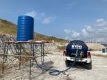เติมน้ำลงแท้งค์โรงงานสำหรับใช้อุปโภคบริโภค - โอ๊ต บริการน้ำจืดระยอง