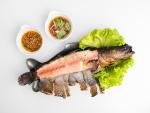ปลาช่อนเผา แม่ลาปลาเผา สิงห์บุรี - ร้านอาหาร แม่ลาปลาเผา สิงห์บุรี